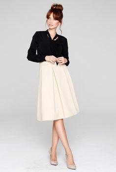 #beige #skirt