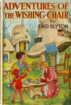 The Wishing Chair by Enid Blyton - One of my favourites growing up! i had lots of Enid Blyton books Books To Read, My Books, Teen Books, Story Books, Enid Blyton Books, Rabbit Book, Short Stories For Kids, Vintage Children's Books, Vintage Ideas