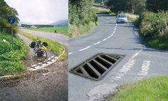 What would British roads look like if they were treated the same way as cycle lanes?