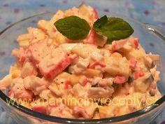 38 Jemný surimi salát