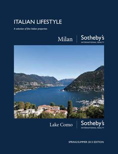 A selection of fine italian properties represented by Milan Sotheby's International Realty
