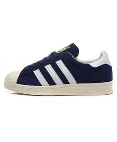 timeless design 8977f d6880 Adidas Superstar Mens Blue Fashion Cheap Trainers T-1038