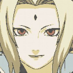 Dibujos Punto de Cruz Gratis: Naruto