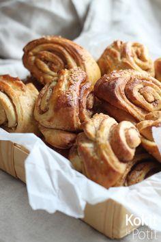 Kokit ja Potit -ruokablogi: Inkivääri-hunajapullat