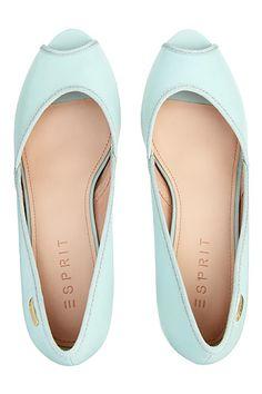 charmante peep toes