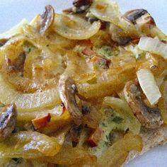 Veganer Zwiebelkuchen Rezept   Küchengötter