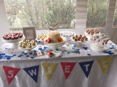 Candicake - San Francisco, CA, United States. Sweets table (Wedding Event in Half Moon Bay)