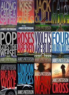 Alex Cross Series by James Patterson