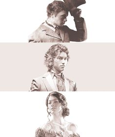 The Infernal Devices............ I'm so in love.... Books :) <3 Will, Jem, Tessa