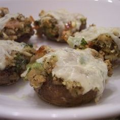 Dinahs Stuffed Mushrooms - Allrecipes.com