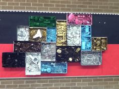 Louise Nevelson display - 8th grade art