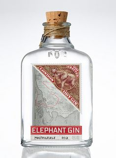 "Elephant Gin  www.LiquorList.com  ""The Marketplace for Adults with Taste"" @LiquorListcom   #LiquorList"