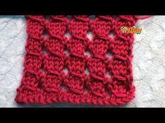 YouTube Lace Knitting Patterns, Knitting Stitches, Stitch Patterns, Crochet Round, Filet Crochet, Knit Crochet, Ladybug Crafts, Crochet Videos, Crochet For Beginners