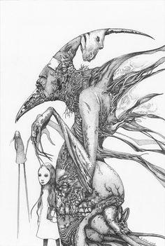 kirk - long leggers ... http://ipaintmymind.org/art/richard-a-kirk-ipmm-exclusive/#