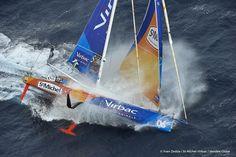 St Michel - Virbac, skipper Jean Pierre Dick (FRA) Vendée Globe 2016-2017