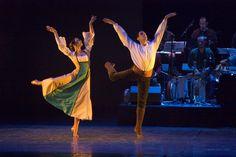 Foto; Vallinas. EL RELOJ Compañía Ibérica de Danza