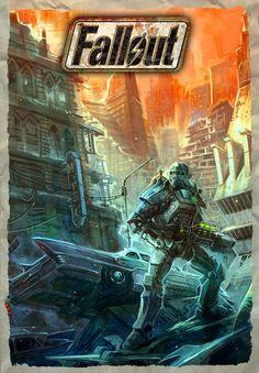 Fallout mural inspiration fallout pinterest boys for Fallout 4 mural