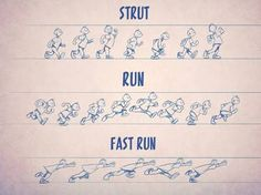 showing movement in cartoons - Google Search
