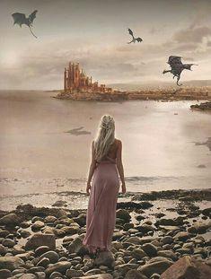 Esta imagem está errada... Pois tem 3 dragões em Porto Real... Ou será que está certo??