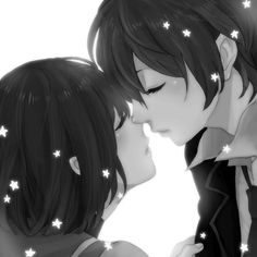 Uploaded by Emma. Find images and videos about love, cute and beautiful on We Heart It - the app to get lost in what you love. Kawaii Anime, Find Image, Images, Couples, Kiss, Cute, Inspiration, Beautiful, Penguin