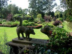 UK - Northern Ireland - Mount Stewart gardens