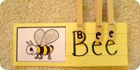 Clothespin word clips: Teaches fine motor skills, matching and letter recognition.