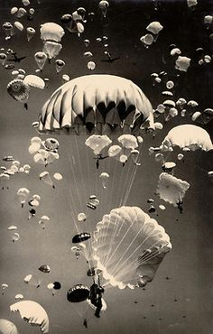 Paratroopers over Moscow, Russia