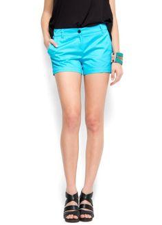 Mango Women`s Shorts Chinos $34.99