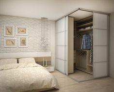 Schlafzimmer hálószoba em 2019 home bedroom, bedroom wardrob Bedroom Closet Design, Home Room Design, Closet Designs, Home Bedroom, Home Interior Design, Bedroom Decor, Bedrooms, Bedroom Corner, Bedroom Designs