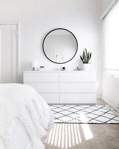 ZEN ROOM: Ideas for a Zen bedroom House decoration ideas ideas # for . - ZEN ROOM: Ideas for a Zen bedroom House decoration ideas ideas - Sala Zen, Simple Bedroom Decor, Bedroom Ideas, Bedroom Designs, Bedroom Inspo, Simple Bedrooms, Ikea Room Ideas, Small White Bedrooms, Ikea Bedroom Design