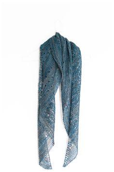 Ravelry: Melodia shawl with Malabrigo Sock in colorway Persia - knitting pattern by Janina Kallio.