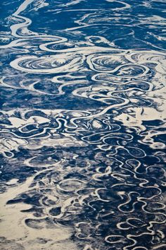 Aerial View of Siberia - Khabarovsk Krai - The Amgun River: a meandering river and a scenery with multiple oxbow lakes, meander bars and avulsed channels.  #ScienzeGeologichePage