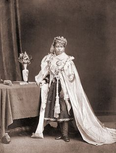 1872 - Sultan Shah Jahan, Begum of Bhopal.  Bhopal was unique among the princely states as it was ruled by a succession of widows; Begum Shah-Jahan (1838-1901) succeeded as Nawab Begum twice, the first time between 1844-1860 and the second time between 1868-1901. Shah-Jahan Begum was known for commencing the construction of the Taj-ul-Masjid mosque in Bhopal and for other public work projects such as subsidising the cost of a railway to be constructed between Hoshangabad and Bhopal.