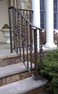 Best 25 Best Exterior Stair Railing Images In 2019 Banisters 640 x 480