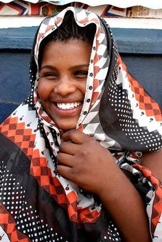 a smile from Mauritania :-)