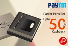 Paytm offers UPTO 50% Cashback Deals on Parker Pens Sets. More Brands Pen Cross, LAMY, Sheaffer, Waterman. The Parker Pen Company is a manufacturer of luxury pens, founded in 1888[2] by George Safford Parker in Janesville, Wisconsin, United States. In 2011, the Parker factory at Newhaven, East Sussex, England (United Kingdom) was closed, and its production transferred to Saint-Herblain (France). Coupon Code – STAT50   http://www.paisebachaoindia.com/parker-pens-set-upto-50-cashback-paytm/