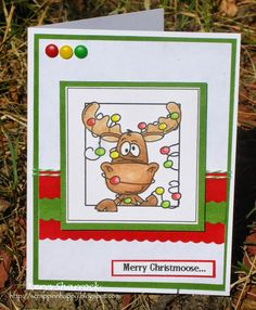 Scrappin'n'Happy: Merry Christmoose...
