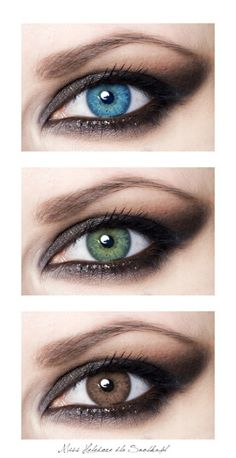 Lookin at the eye colors... not the makeup...