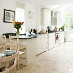 White country kitchen | Country kitchen ideas | housetohome.co.uk