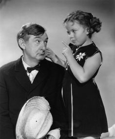 Shirley Temple and Slim Summerville