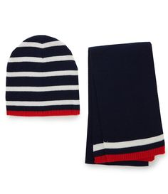34a6ad7205c Shop for Class Club Boys Stripe Hat  amp  Solid Scarf Set at Dillards.com