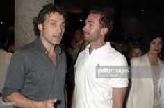 Rufus Sewell and Joseph Fiennes attend the 'Human Rights Watch Gala' At The Royal Court Theatre on June 18 2006 in London England