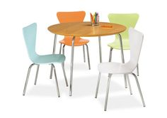 Kids table and chairs - table $99, chairs $49 each;