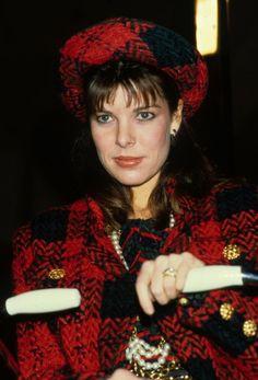 Princess Caroline of Monaco in London.January,1986.