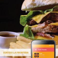 Além de comer um lanche da melhor hamburgueria do Vale do Aço, você concorre a um LA FRONTERA.  O La Frontera é hambúrguer + batata frita + molho = <3  Faça o seu pedido pelo nosso site ou aplicativo.  #Chilis #LaFrontera #ComidaMexicana #Delivery #FomeDemais