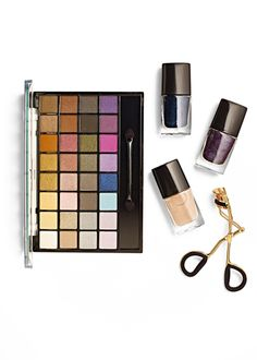 Update your color palette with fresh makeup and nail polish