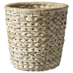 Threshold™ Waste Basket Home Weave - White : Target Mobile