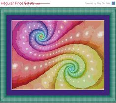 Colors ON SALE  Limited Time Counted Cross Stitch by StitchXCrossStitch, $3.36