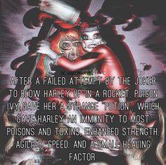 Harley Quinn and The Joker aren't goals, but Harley Quinn and Poison Ivy are.  -The Joker #marvel #xman #deadpool #avengers #captainamerica