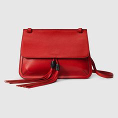 Gucci Women - Bamboo Daily leather shoulder bag - 370826A7M0N6523